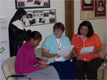 Eileen and 2 women